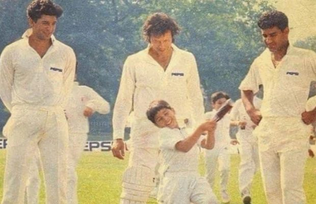 PM Imran Khan shares throwback photo