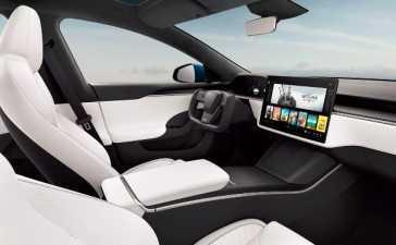 Latest Tesla Car Model Plaid S