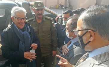 Khawaja Asif in jail