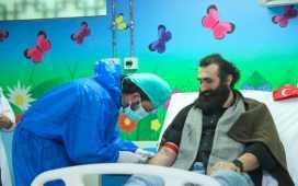 Ertugrul's Celal Al donates blood