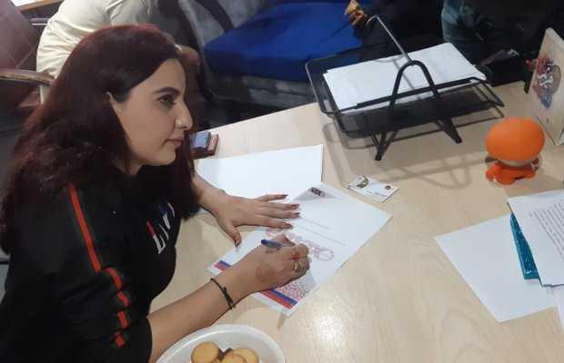 Hareem Shah signed