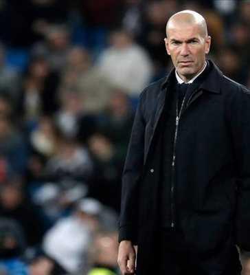 Real Madrid Coach Zidane