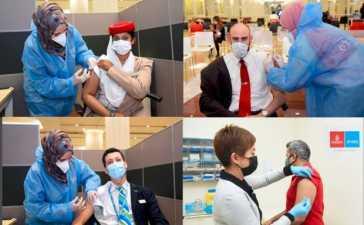Emirates vaccination programme