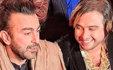 Shaan Shahid along with Kashif Zameer