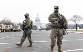 US Capitol under lockdown