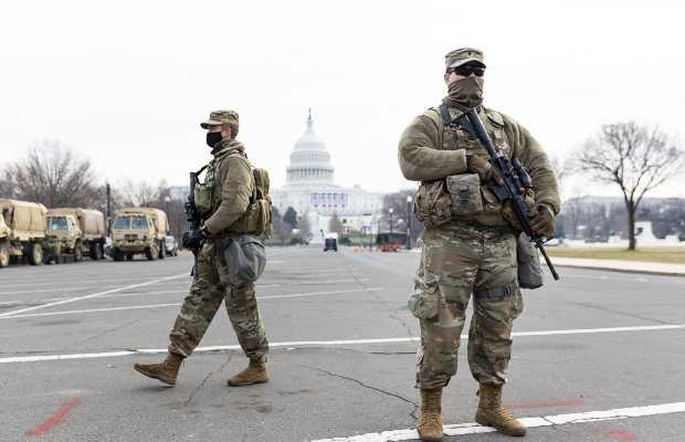 US Capitol under lockdown
