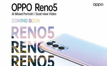 OPPO Reno5 launch
