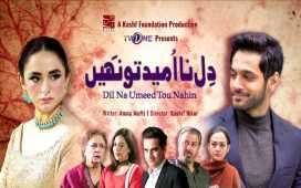Kashf Foundation's production mega serial