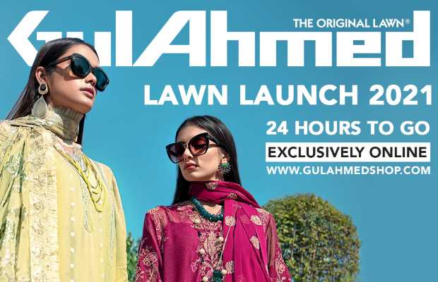 Launch of GulAhmed Lawn'21