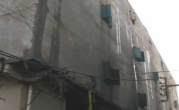 Fire At Thread Factory In Karachi