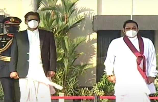 imran khan and Mahinda Rajapaksa