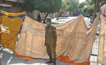Smart Lockdown in Lahore