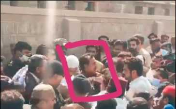Haleem Adil Sheikh Taken Into Custody