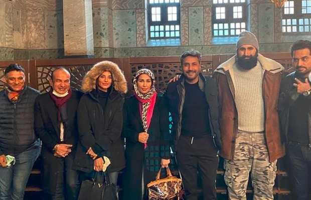 Pakistani Stars in Hagia Sophia Mosque