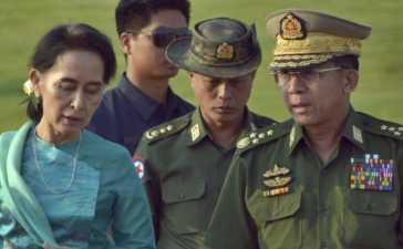 Military Detains Aung San Suu Kyi
