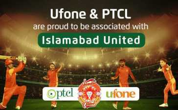 Ufone and PTCL partner with Islamabad United