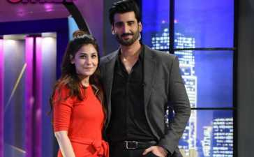 The loved couple Hina Altaf and Agha Ali