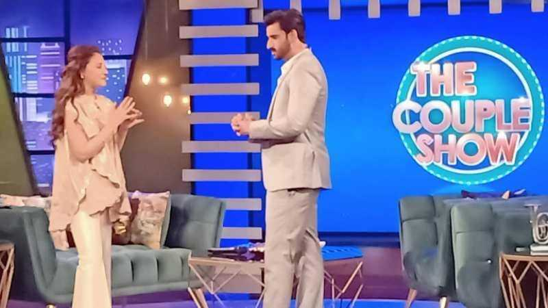 Hina Altaf and Aagha Ali show1