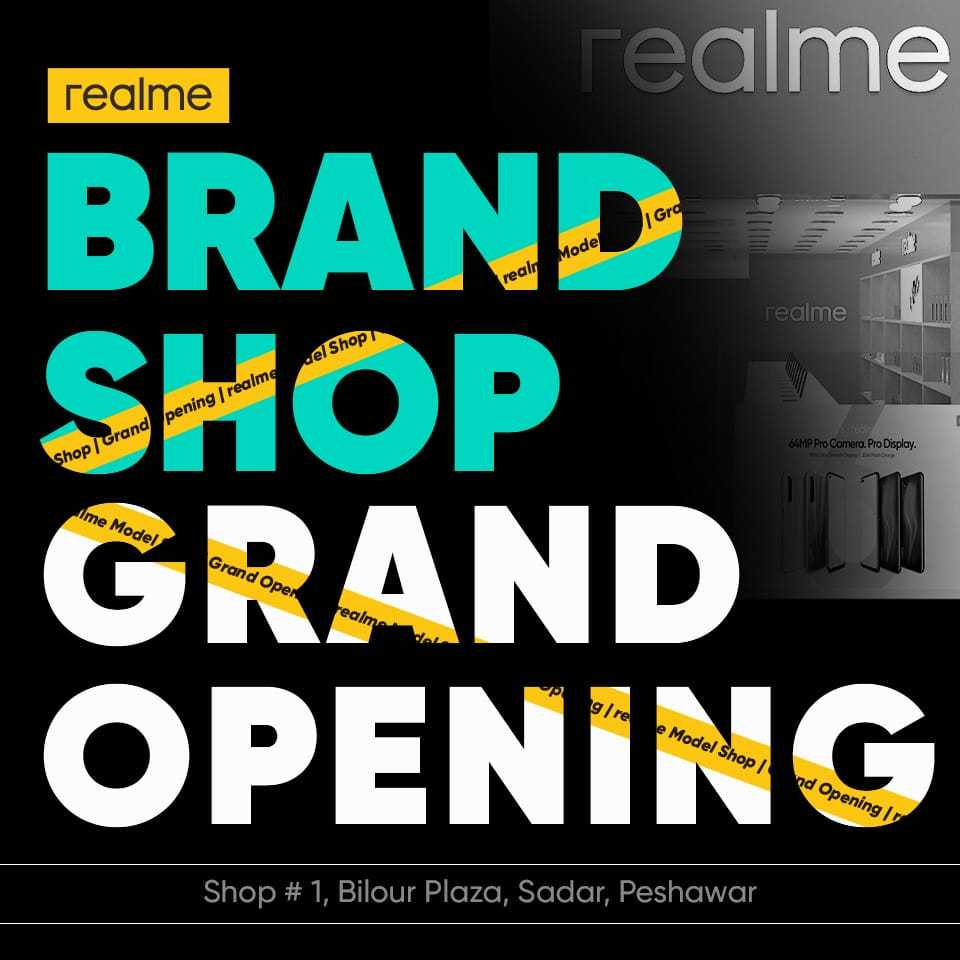 brand shop grand opening