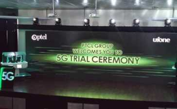 PTCL Successfully Conducts 5G Trial