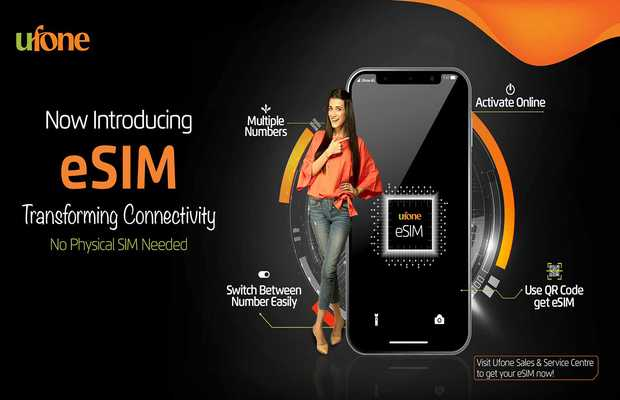 Ufone Launches Its First Ever eSIM