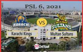 Karachi Kings vs Multan Sultans
