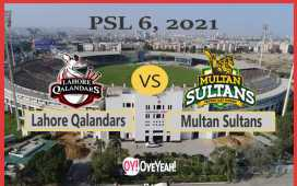 Lahore Qalandars vs Multan Sultans