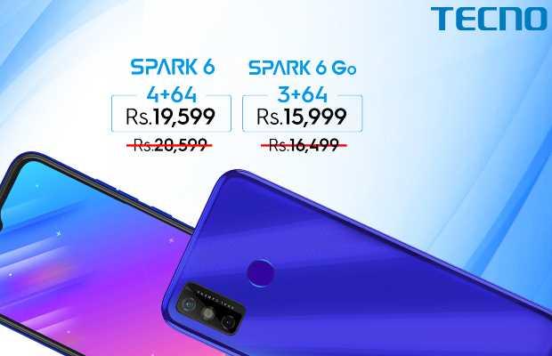 TECNO Phone Spark 6 Go