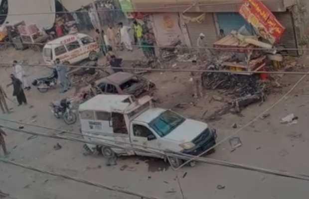 Rangers Mobile Vehicle Explosion