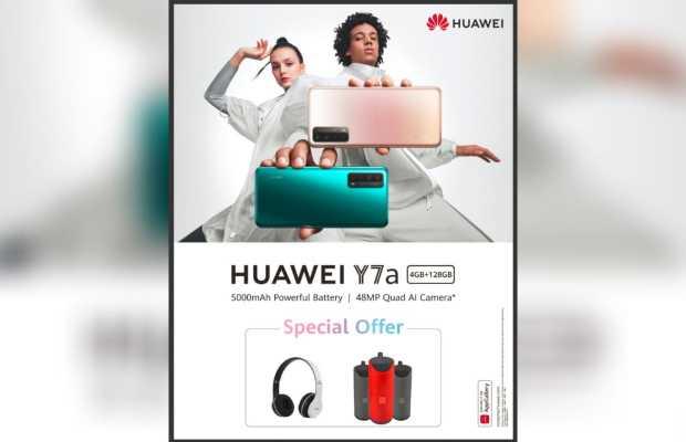 HUAWEI Y7a Offer