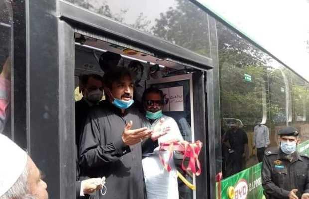 Electric Buses in Karachi