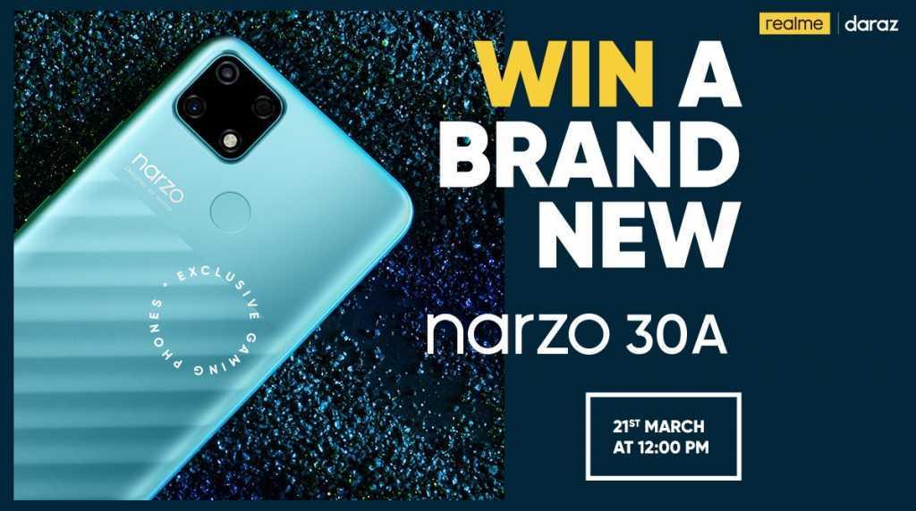 win A brand new narzo 30A