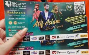 Atif Aslam Concert
