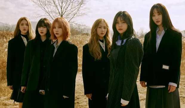 Sowon, Yerin, Eunha, Yuju, SinB, and Umji