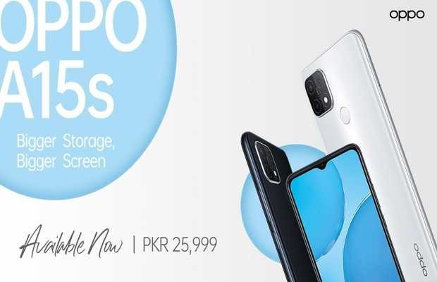 OPPO Launches OPPO A15s