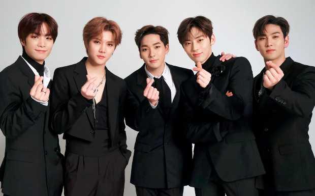 JR, Aron, Baekho, Minhyun, and Ren