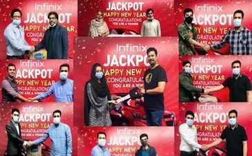 Infinix Jackpot Campaign