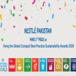 Nestlé Pakistan awarded 1st Prize at Living the Global Compact Best Practice Sustainability Awards