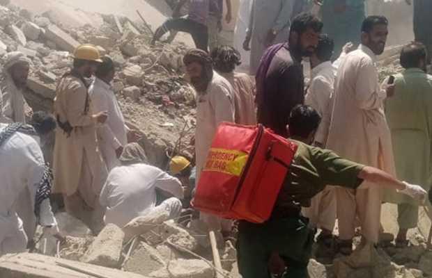Orangi Town Building Collapses