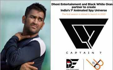 MS Dhoni spy series 'Captain 7'