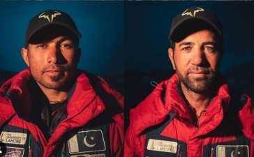 Pakistani climbers
