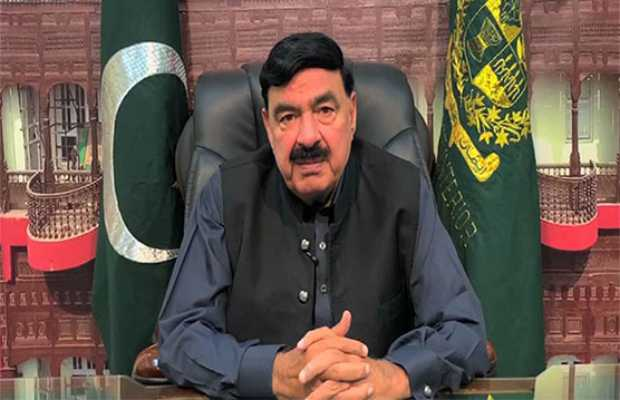 Interior Minister Sheikh Rashid