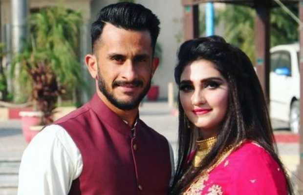 Hasan Ali and Wife