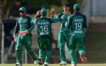Pakistan U-19 Cricket Team's Tour