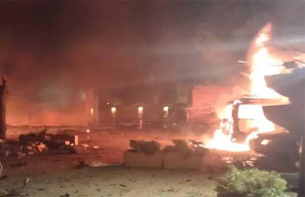 Explosion reported in quetta