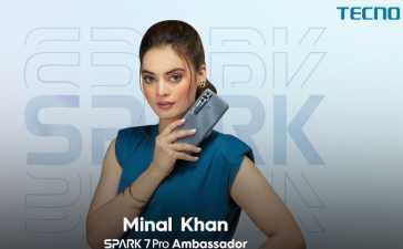 Spark 7 Pro's ambassador