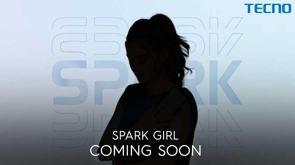 tecno spark girl