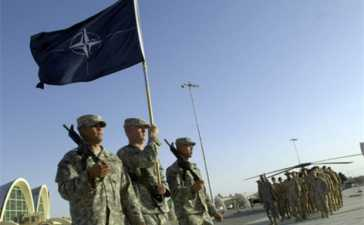 NATO Starts Troops Withdrawal