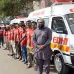 Faisal Edhi offers Foundation's help in tackling India's Covid-19 crisis