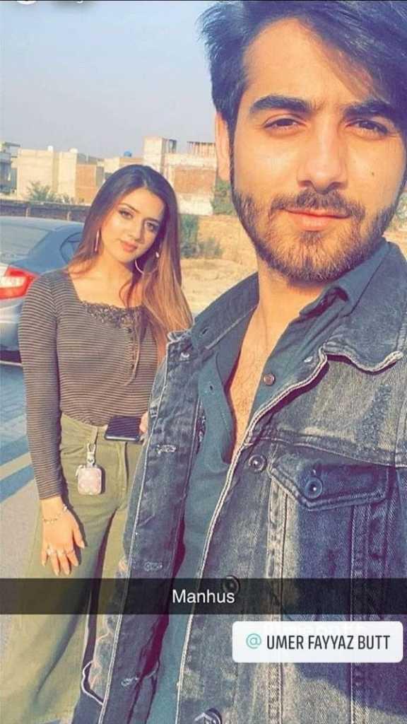 Jannat Mirza with fiancé